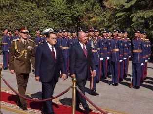 Ricardo Lagos de visita en El Cairo, Egipto, mas fotos pulsando  la imagen