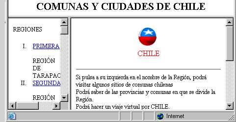 Pulse aqu� si quiere visitar Chile y sus regiones