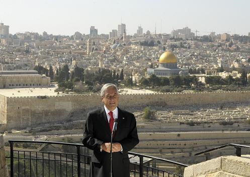 Presidente en Palestina
